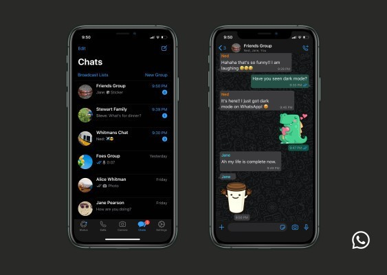 Finally dark mode arrives to soothe your 3am WhatsApps – TechCrunch